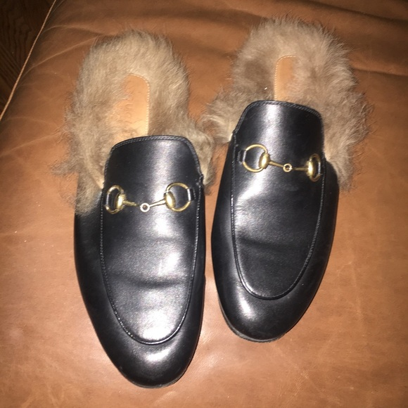 15432dd12d6 Gucci Shoes - Holiday sale!! Gucci Princetown Fur Lined Mule